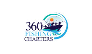 Laura Schreiber Female Voice Over Talent 360 Fishing Charters Logo