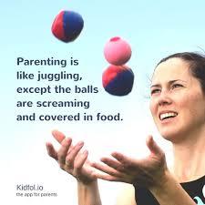 as moms we juggle
