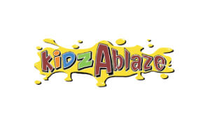 Laura Schreiber Female Voice Over Talent Kidz Ablaze Logo