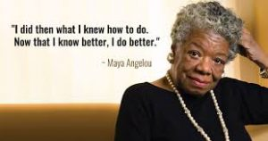 Maya Angelou Quote about Mistakes