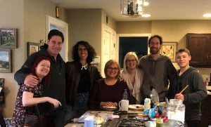 Laura Schreiber with Team for Voice Actor Websites and Kim Handysides and Shelley Avellino