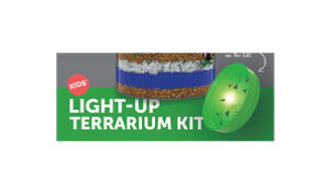 Laura Schreiber Female Voice Over Talent Lightup Terrarium Kit Logo