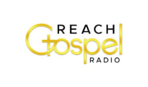 Laura Schreiber Female Voice Over Talent Reach Gospel Radio Logo
