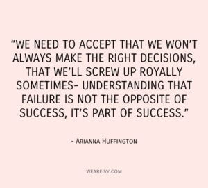 Screwing Up is Part of Success