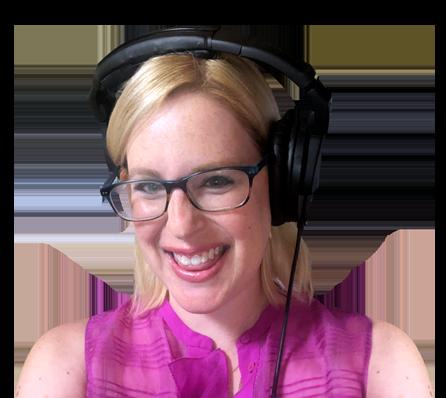 Laura Schreiber Female Voice Over Talent Headshot