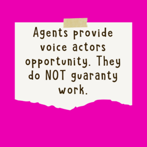 Agents Present Opportunity