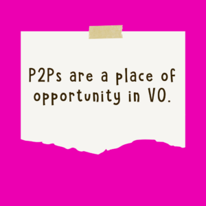 P2Ps Give Opportunity