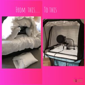 Travel Rig then and Now
