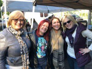Kim Handysides, Shelley Avellino, Dearbhla Trainer, and Laura Schreiber