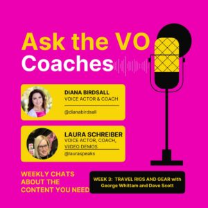 Clubhouse Ask the VO Coaches