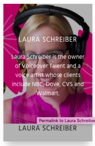 Laura Schreiber and OneVoice