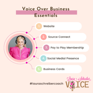 Top items to launch VO business