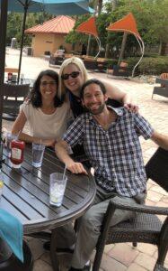 Karin Barth, Laura Schreiber, and Joe Davis